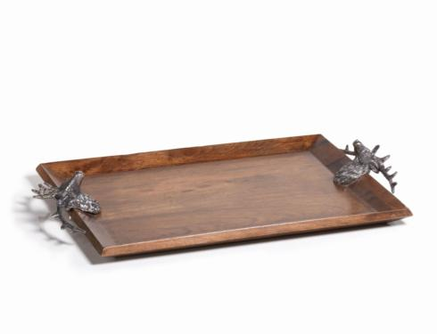 $125.00 Large Bolton Stag Head Rectangular Tray