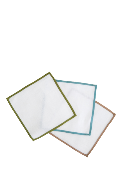 Color Edge Cocktail Napkin collection with 1 products