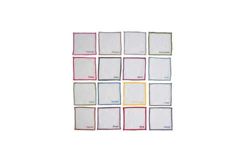 Color Edge Dinner Napkin collection with 1 products