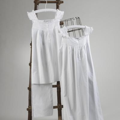 Ruffle White Nighgown collection with 1 products