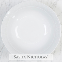 Sasha Nicholas   Weave Simply White Large Serving Bowl $66.00