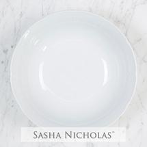 Sasha Nicholas   White Medium Serving Bowl $60.00