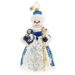 $63.00 A Dolled-Up Snowman