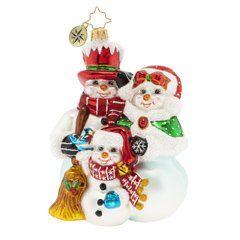 Snowmen collection with 10 products