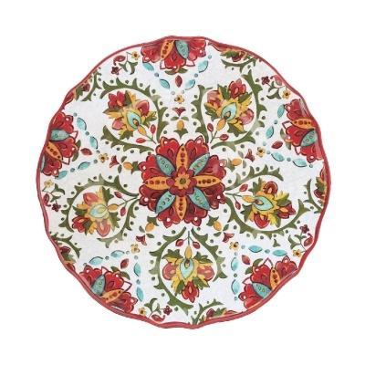$20.00 Allegra Red Dinner Plate