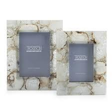 $106.00 Natural White Agate Frame