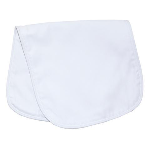 $15.00 Blue Piping Burp Cloth
