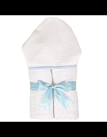 $38.00 Blue Gingham Pique Everykid Towel
