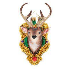 Christopher Radko  Animals A Buck For Christmas $66.00