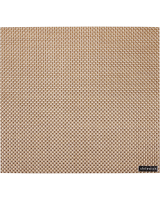 $17.00 Basketweave Square Placemat - New Gold