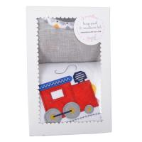 3 Marthas   Train Bib & Burp Box Set $30.00