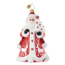 Christopher Radko  Elegant Santas Crimson Kris Kringle $56.00