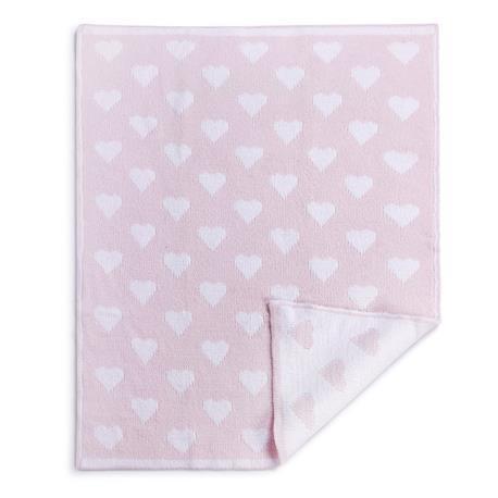 Demdaco   Pink Chenille Knit Blanket $40.00