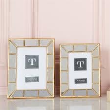 $38.00 Gold Mirror Frame 4x6