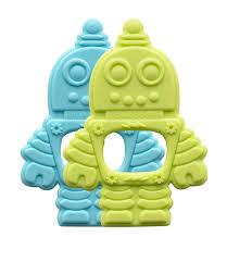 Silicone Retro Robot Teether collection with 1 products