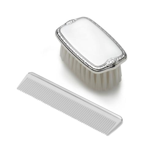 Cole & Co's Exclusives   Empire Boys Pewter Comb & Brush Set $105.00