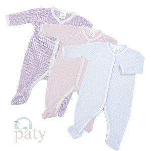 Paty   Long Sleeve Footie with Straight Sleeve $36.00