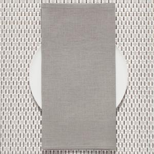 Pale Gray Linen Napkin collection with 1 products