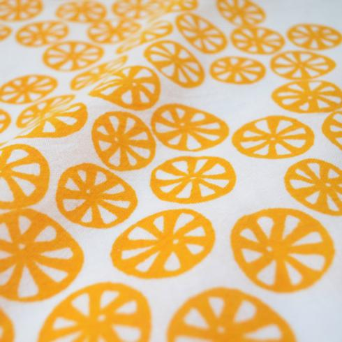 Flour Sack Dish Towel - Yellow Citrus collection with 1 products