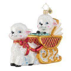 $66.00 Baby Lamb Sleigh Ride