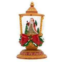 $99.00 Light The Way Santa Snowglobe