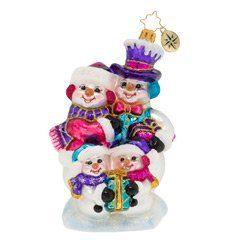 $63.00 Our Festive Frosty Family