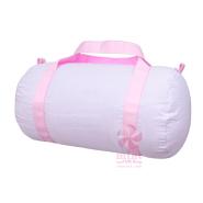 Mint   Pink Seersucker Med Duffel $28.00