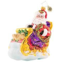 $63.00 Ringing While He\'s Singing Santa