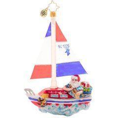 $70.00 Sailing South Santa