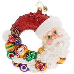 $66.00 Santa Comes Full Circle Wreath