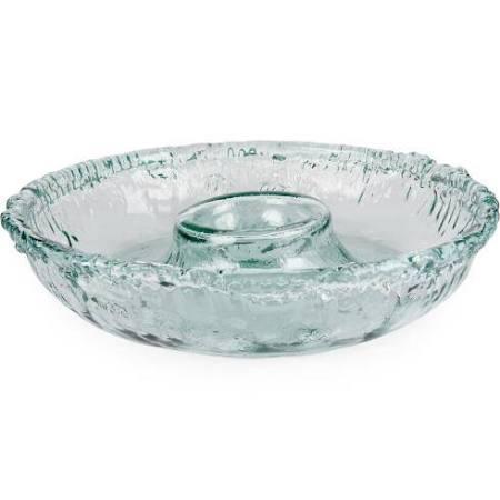 $63.00 Rustic Round Chip & Dip Bowl