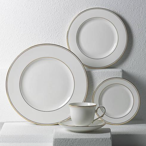 $99.00 Federal Gold 5 piece place setting - Lenox