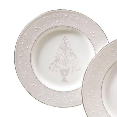 Lenox   Opal Innocence Tree Accent Plate $40.00