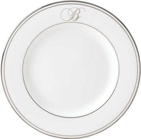 $35.00 Federal Platinum monogram B accent plate