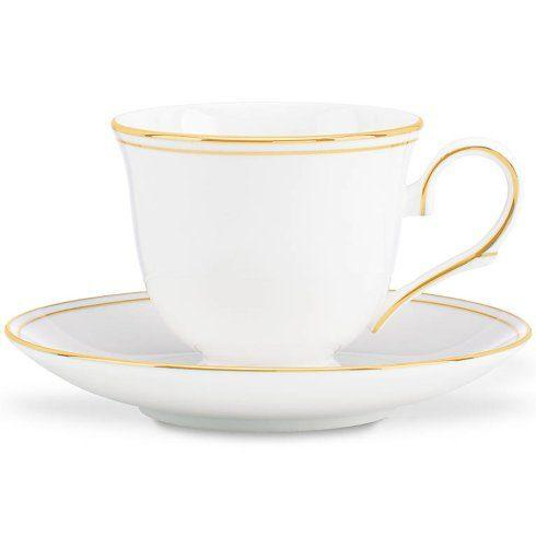 $40.00 Federal Gold cup & saucer - Lenox