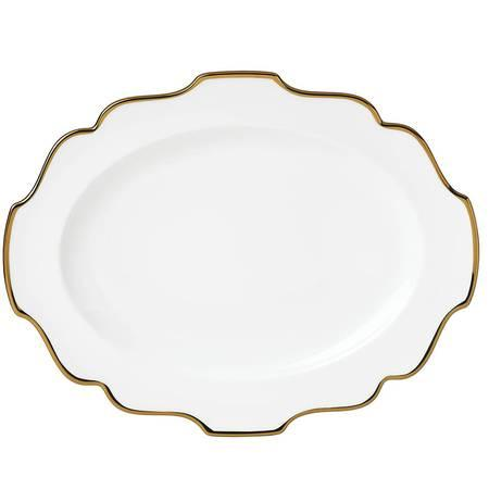 "Lenox   Contempo Luxe 16"" oval platter $100.00"