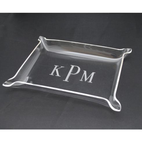 $28.00 Monogram sm nested tray