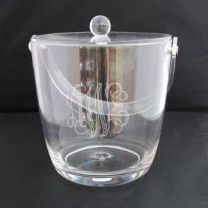 $69.95 Monogram ice bucket