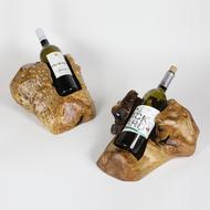 $57.95 Wooden Wine Bottle Holder , Single