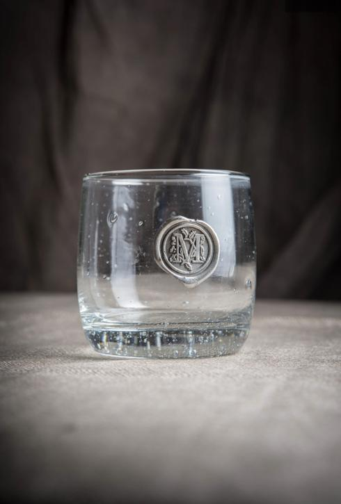 $14.95 Initial M double old fashion