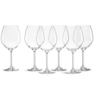 $49.95 Tuscany Classic Red wine, set/6