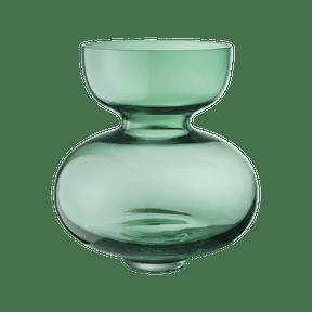 $199.00 Alfredo Vase, Green Handblown Glass