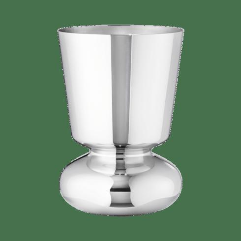 $159.00 Alfredo Vase, Small Mirror Stainless Steel