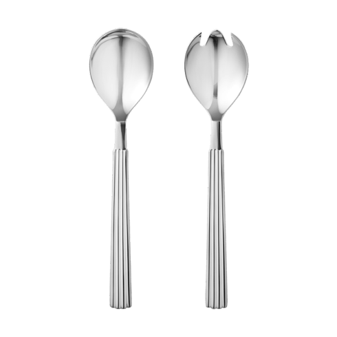 Georg Jensen   Bernadotte Salad Serving Set $65.00