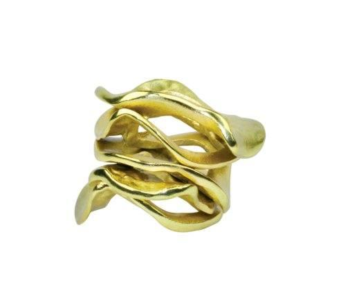 $22.00 Kim Seybert  - Flux Napkin Ring Gold