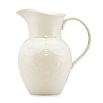 $62.00 French Perle pitcher - white