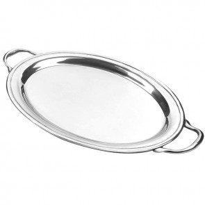 Oval tray with handles collection with 1 products