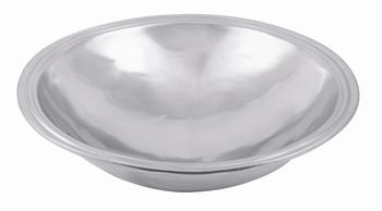 Matte pewter finish round bowl collection with 1 products