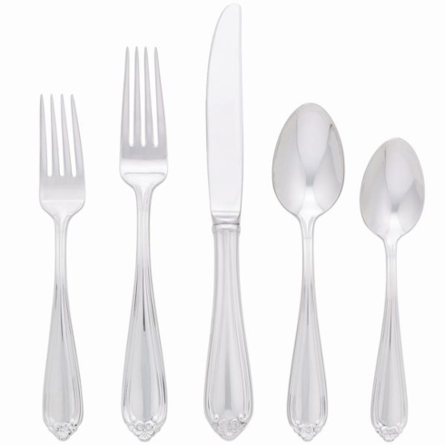 $65.00 Bellina Flatware - 5 Piece Place Setting