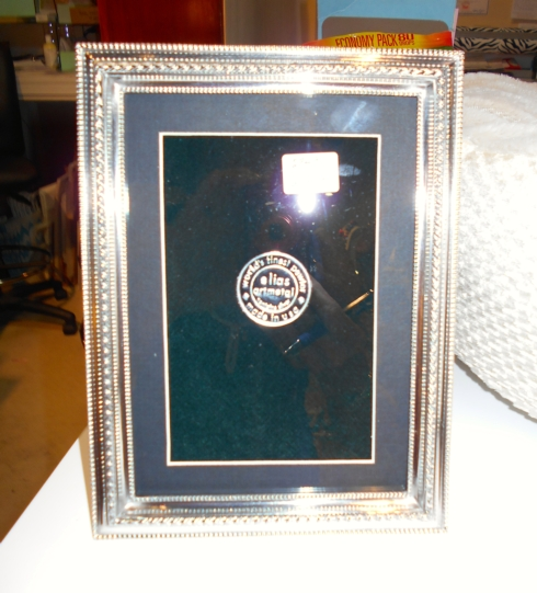 $102.00 Pewter Picture Frame